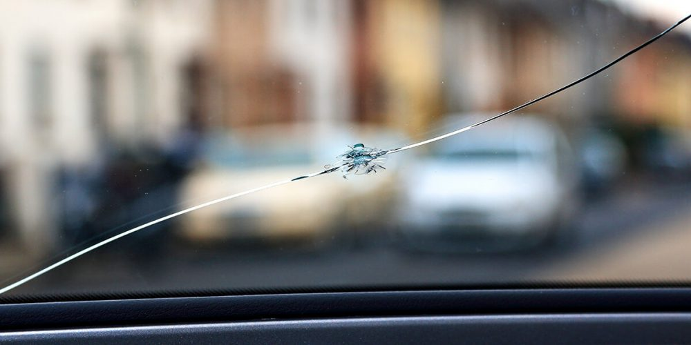 Windshield Rock Chip Crack